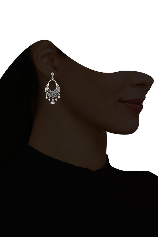 Womens Silver Plated Earrings
