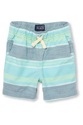 Boys 4 Pocket Striped Shorts