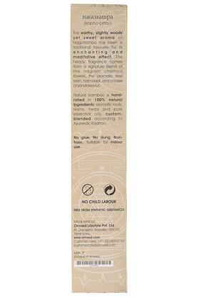 Champa Flowers Non-toxic Natural Incense Sticks Set of 12