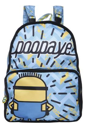 Kids Minion Print Reversible School Bag