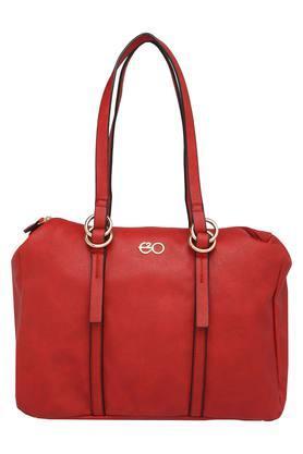 E2OWomens Zipper Closure Shoulder Handbag - 204277345_9607