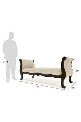 Beige Arthur Sofa Bench