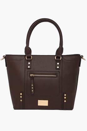 SATYA PAUL Womens Zipper Closure Satchel Handbag - 203029042