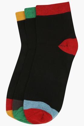 VETTORIO FRATINIMens Solid Socks Pack Of 3
