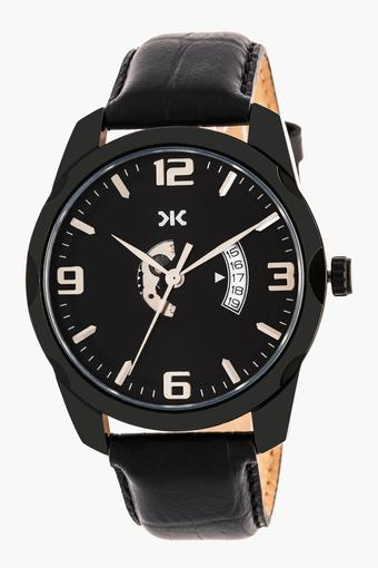 Mens Analogue Leather Watch - KLM202G