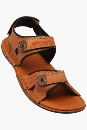 RED TAPEMens Leather Velcro Closure Sandals - 203095193