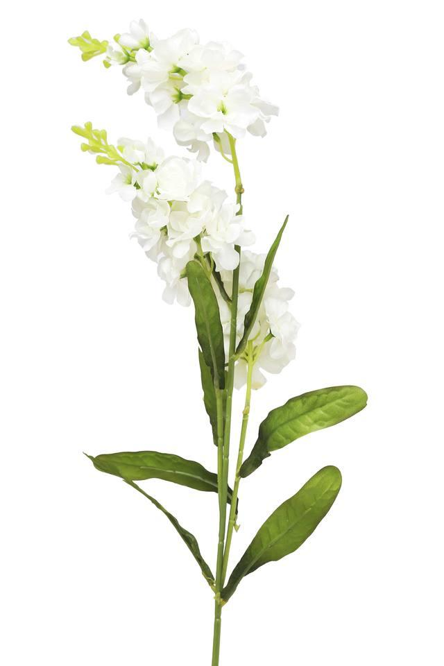White Gilly Artificial Flower