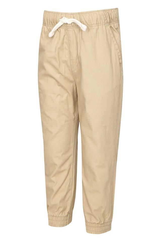 Boys 4 Pocket Solid Joggers