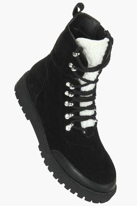 TRUFFLE COLLECTIONWomens Casual Wear Zipper Closure Boots - 203748462_9212