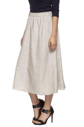 Womens Striped Skirt