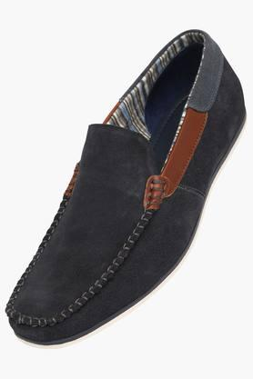 Mens Suede Slipon Loafers