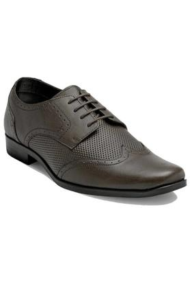FRANCO LEONE Mens Leather Lace Up Derbys - 203592052_9126