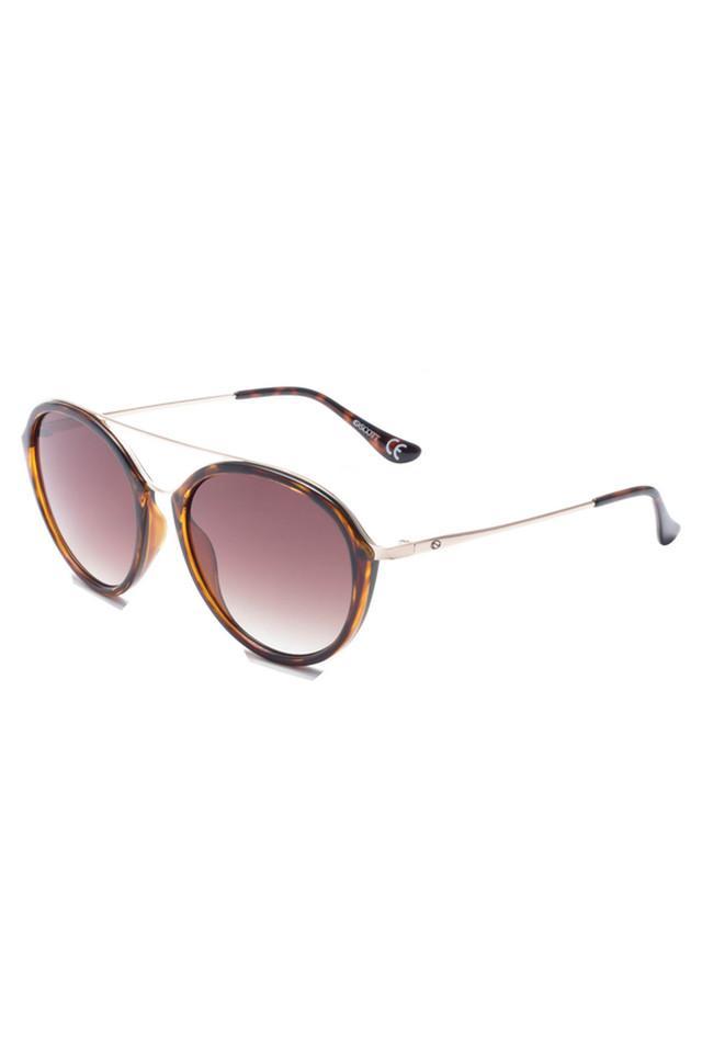 Womens Full Rim Round Sunglasses - 017 C1 S