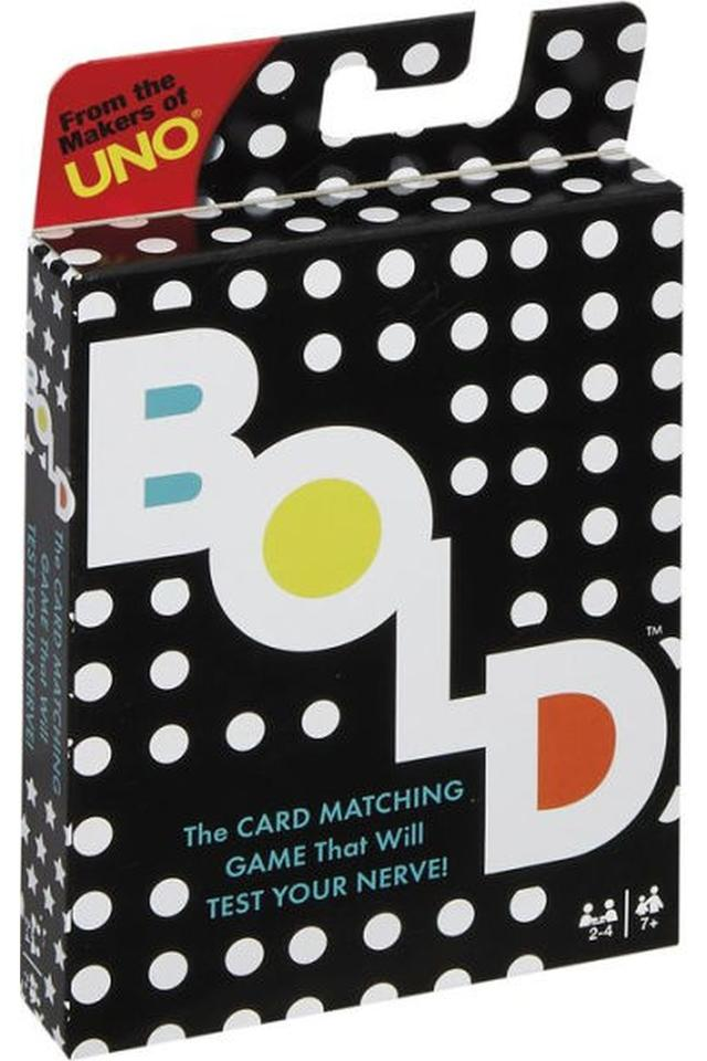 Unisex Bold Card Game