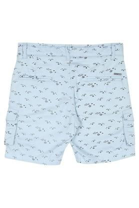 Boys 7 Pocket Printed Shorts