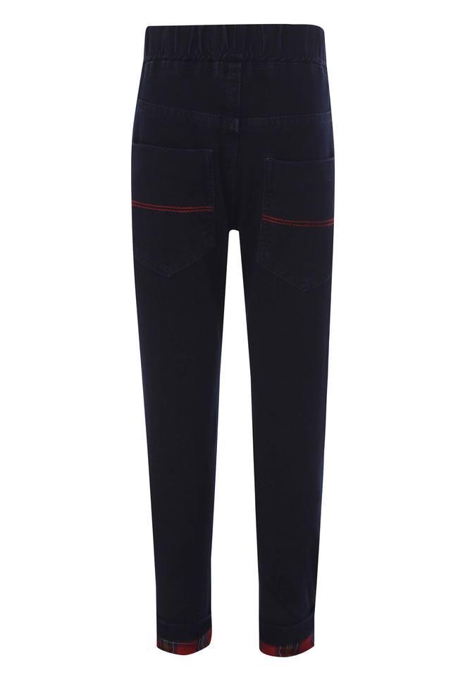 Boys 5 Pocket Coated Jeans