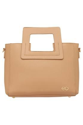 E2O Womens Zipper Closure Satchel Handbag - 203461135_9113