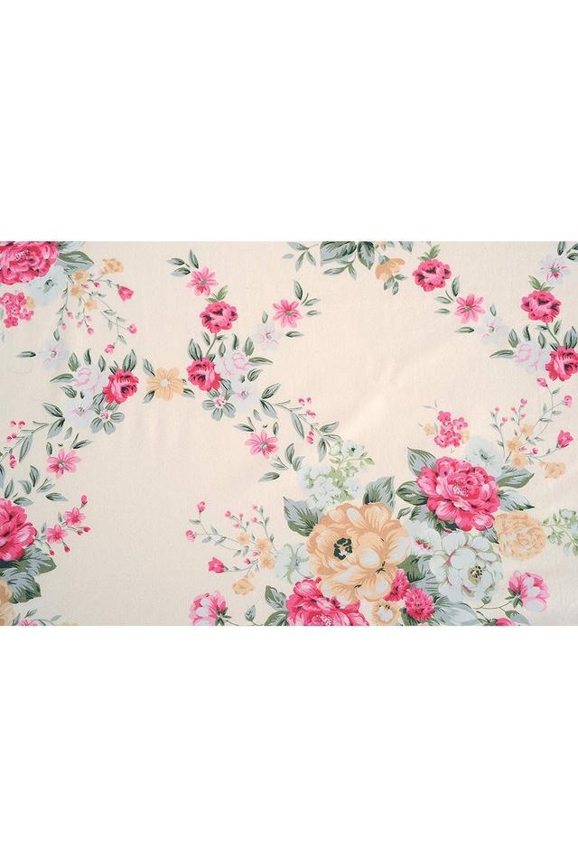 Cotton Floral Printed Single AC Comforter