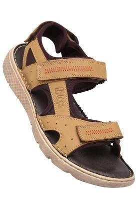 LEE COOPERMens Leather Velcro Closure Sandals - 203912128_9115