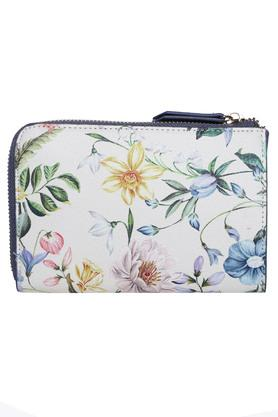 Womens Casual Wear Zip Closure Wallet