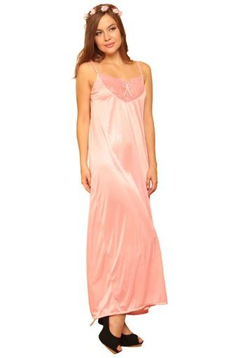 Buy CLOVIA Womens Lace Casual Night Gown Online | Shoppers Stop