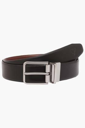 VETTORIO FRATINI Mens Leather Buckle Closure Formal Belt - 203362216