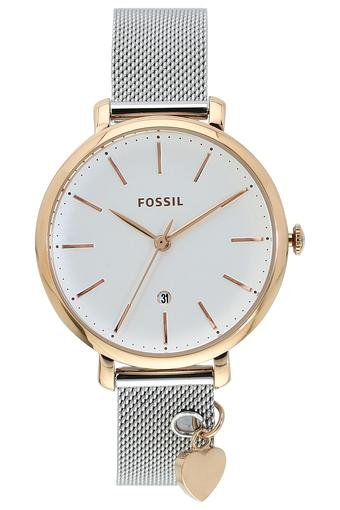 Womens White Dial Metallic Analogue Watch - ES4474