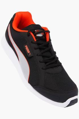 PUMA Mens Mesh Lace Up Sports Shoes - 203064857