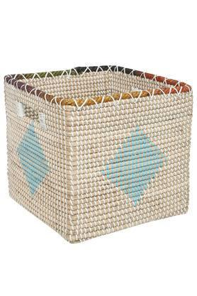 Square Printed Storage Basket