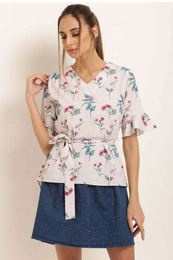 MARIE CLAIRE -  BeigeTops & Tees - Main