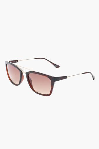 Unisex Square Polycarbonate Sunglasses - 2198 C2 S