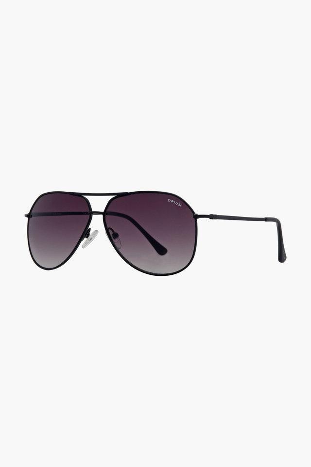 Unisex Aviator Gradient Sunglasses