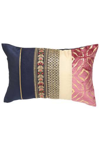 FERN -  Blue Mix Dark Cushion Cover - Main