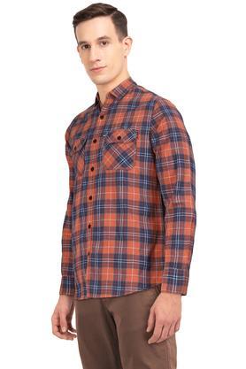 LIFE - OrangeCasual Shirts - 2