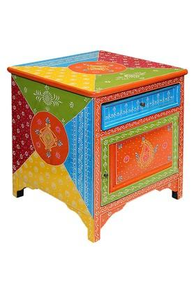 Multi Color Joanna Bed Side Table