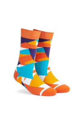 Unisex Printed Socks - Pack of 2