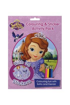Disney Sofia the First Colouring & Sticker Activity Pack