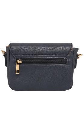 Womens Buckle Closure Sling Bag