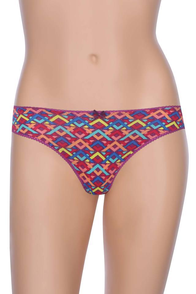 Womens Printed Bikini Briefs