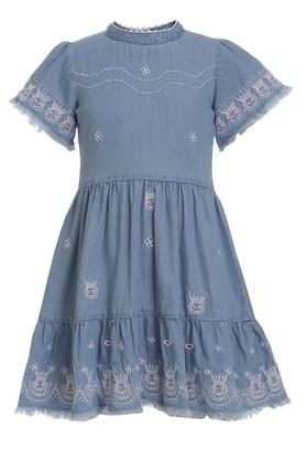 Girls Turtle Neck Assorted Dress