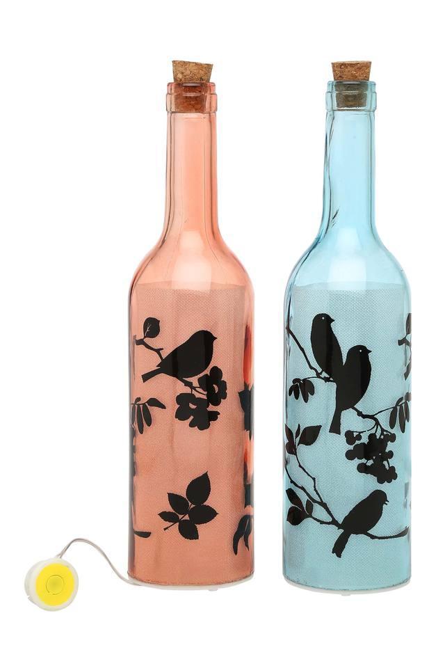 Birdie Bottle Lamp Set of 2