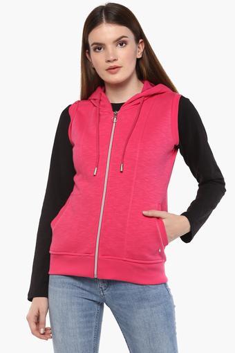 29d56cc663 Buy MONTE CARLO Womens Hooded Neck Slub Sweatshirt