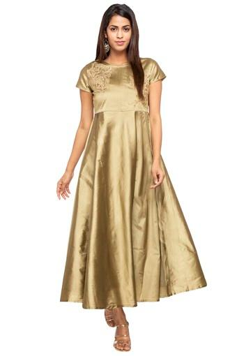 KASHISH -  Gold Dresses - Main
