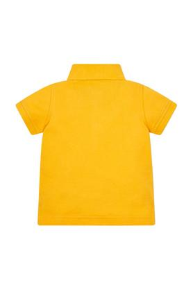 Boys Solid Polo T-Shirt