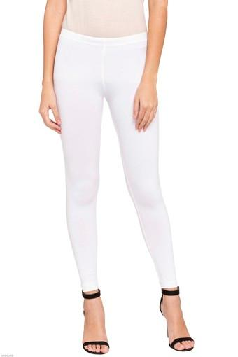 Womens Stretch Mid Rise Skinny Fit Leggings