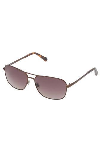 Unisex Navigator UV Protected Sunglasses - FOS2001SB7XY6