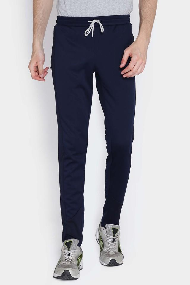 Mens 2 Pocket Solid Track Pants