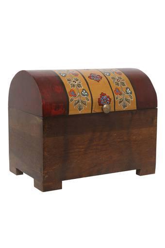 Rectangular Printed Tuhin Sandook Box