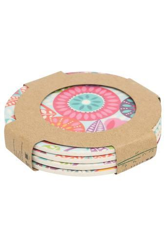Round Fantasia Coasters Set of 4