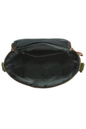 Unisex Zipper Closure Solid Tiffin Bag
